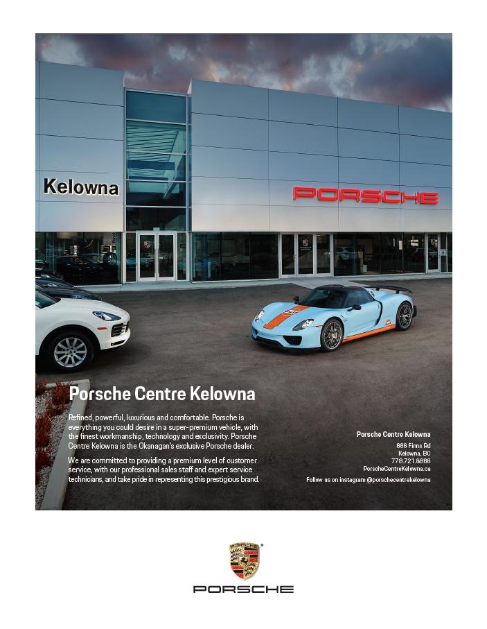 Porsche Centre Kelowna
